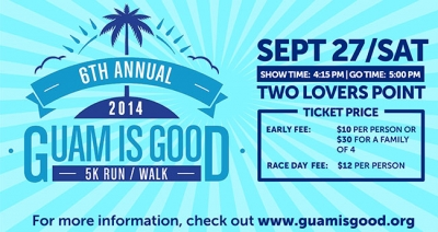 The 6th Annual Guam is Good 5K Walk | Run